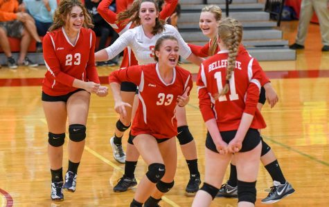 Volleyball sets up for victory