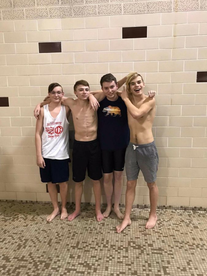 Swimming Boys