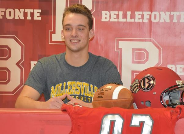 Senior Chris Persiko signs to play football with Millersville University