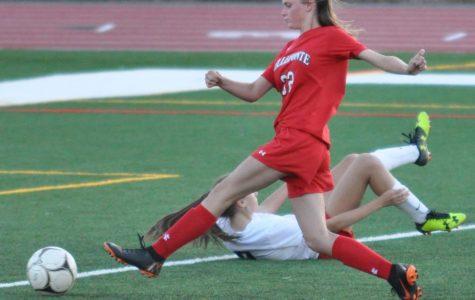 Girls soccer working towards goals