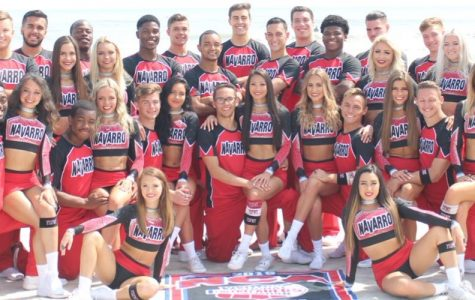 The Navarro Cheer Team from the Netflix docuseries Cheer
