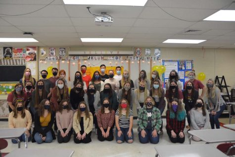 Spanish Honor Society welcomes newly inducted members