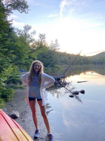 Senior Amaya Rothrock enjoys time outdoors at
