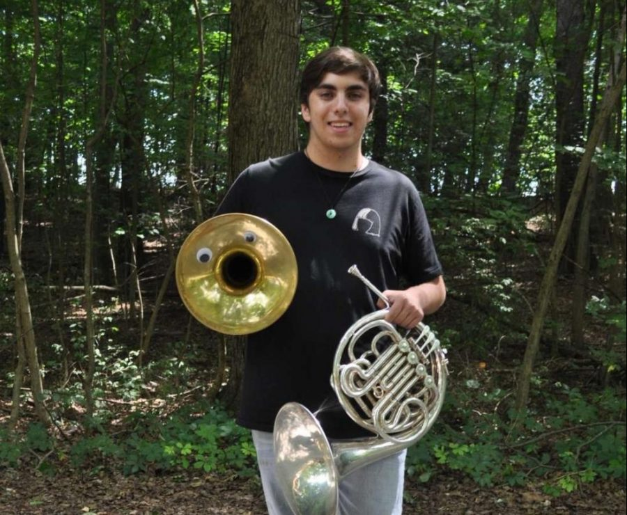 The mellophone musician