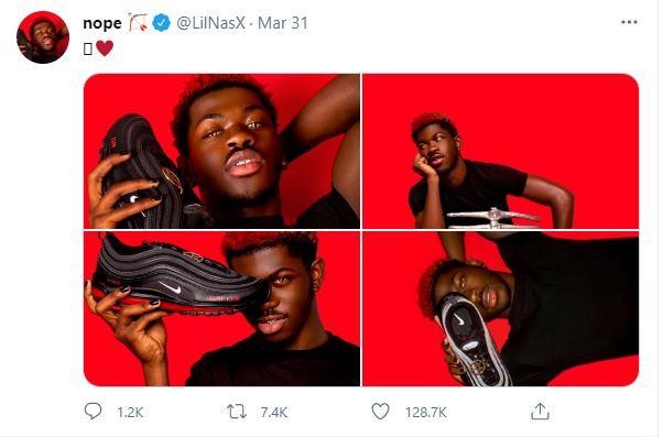 Lil Nas X Twitter Account