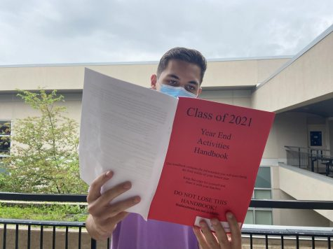 Bellefonte seniors received the infamous Red Book last week.