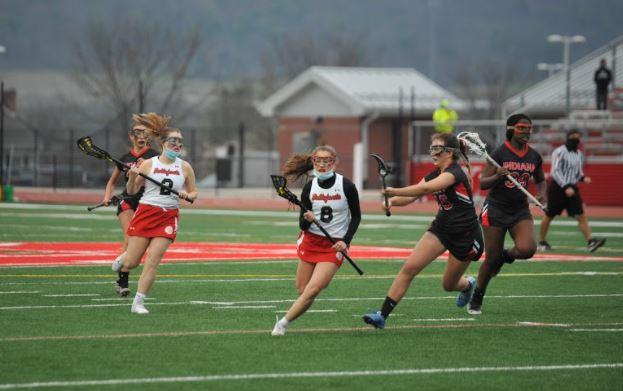 Lacrosse taking the lead