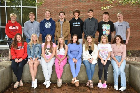 The entire 2021 Homecoming Court of BAHS