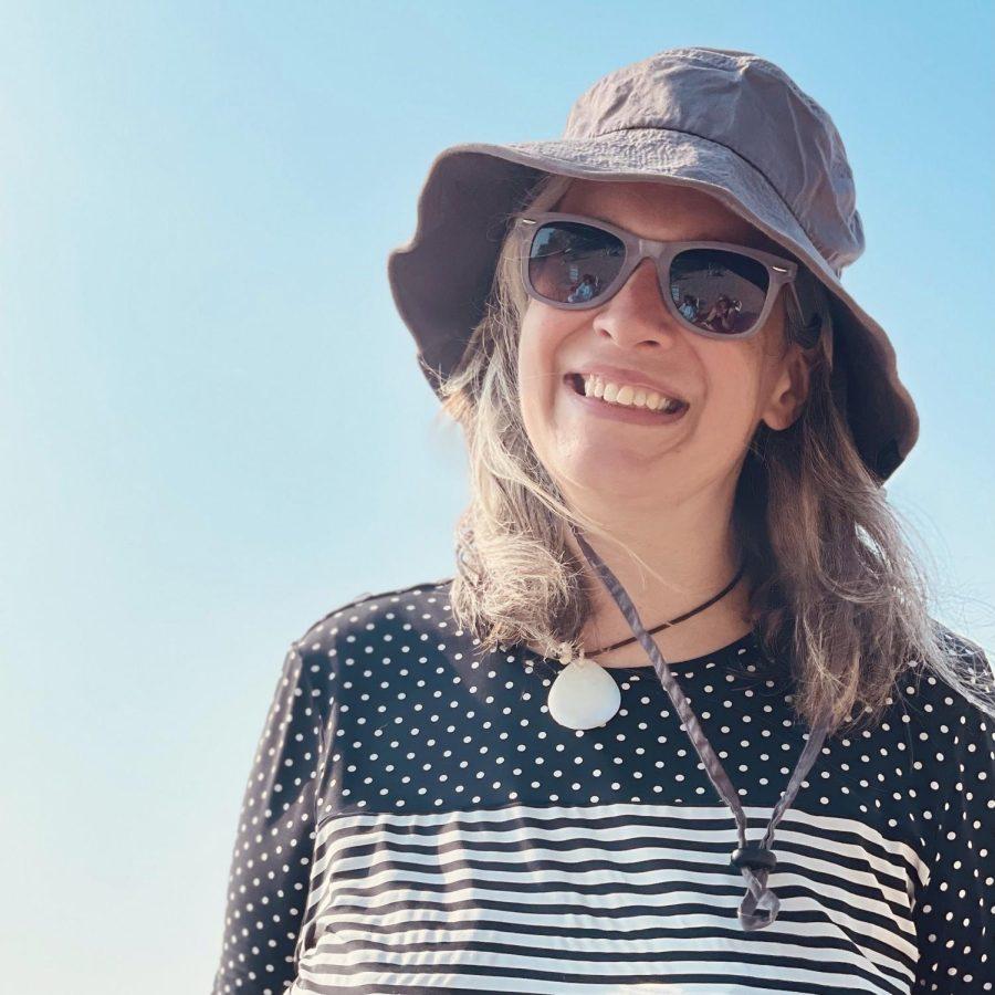 High School art teacher Mrs. Erin Welsh